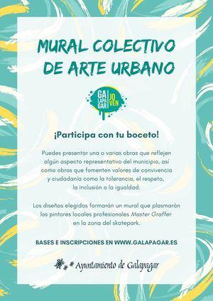 Galapagar invita a los jóvenes artistas locales a participar en un mural colectivo