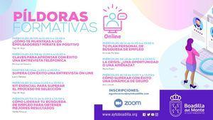 Boadilla ofrece talleres on line gratuitos de apoyo en la búsqueda de empleo