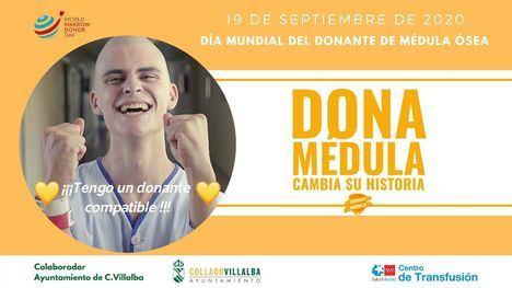 Collado Villalba anima a los jóvenes a registrarse como donantes de médula ósea