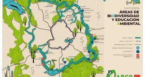 Arco Verde: 540.000 árboles para absorber las emisiones CO2 de 40.000 vehículos