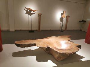 'Silencio Ondulado': el escultor de Torrelodones Teo Calvo expone en el Museo Tiflológico de la ONCE