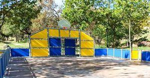 El Escorial abre al público la nueva pista multideportiva de La Manguilla
