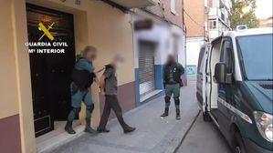 La Guardia Civil desmantela una organización de 'murcigleros' que actuaba por toda la Comunidad de Madrid