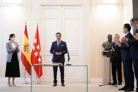 Javier Luengo toma posesión como nuevo consejero de Políticas Sociales
