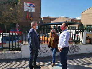 El diputado socialista Óscar Cerezal visitó Torrelodones con los miembros de la Agrupación del PSOE