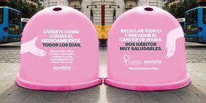 Collado Villalba y Torrelodones participan en la campaña 'Recicla vidrio por ellas'