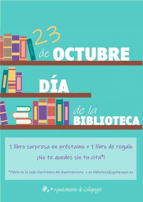 La Biblioteca de Galapagar celebra su Día con multitud de sorpresas