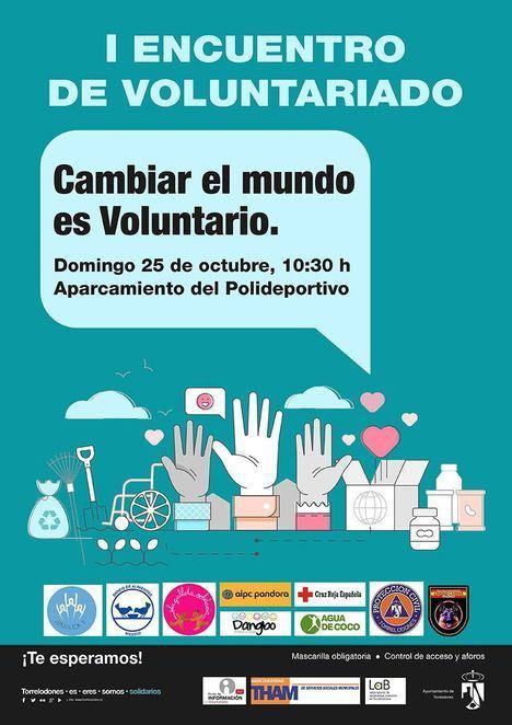 Torrelodones busca voluntarios el 25 de octubre en su I Encuentro de Voluntariado