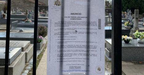 El Escorial adopta un Protocolo COVID y medidas de seguridad con motivo de Todos los Santos