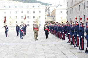 Felipe VI preside en San Lorenzo una nueva reunión de la Orden de San Hermenegildo