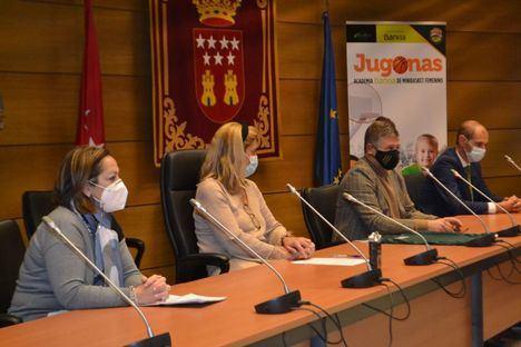 Academia Jugonas: un espacio seguro para que las niñas aprendan baloncesto en Collado Villalba