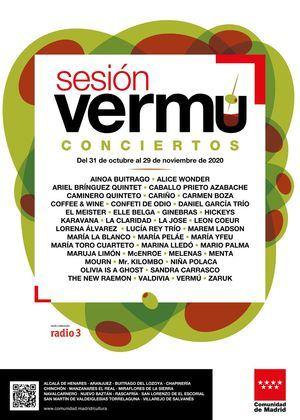 San Lorenzo estrena el 31 de octubre Sesión Vermú, el nuevo ciclo musical de la Comunidad