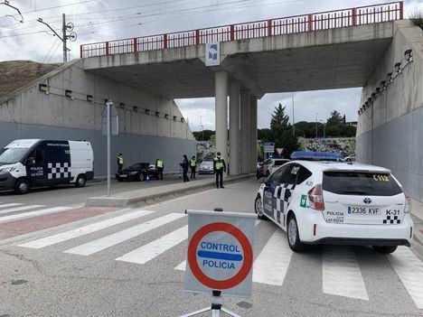 El dispositivo COVID de la Policía de Las Rozas realiza 1.000 intervenciones en su primera semana