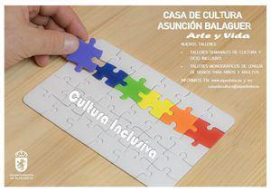 La Casa de Cultura de Alpedrete pone en marcha talleres de cultura y ocio inclusivo