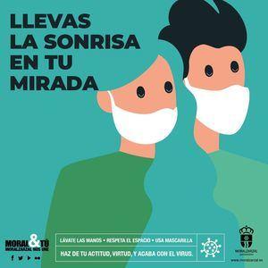Moralzarzal lanza una campaña municipal de medidas preventivas contra el coronavirus