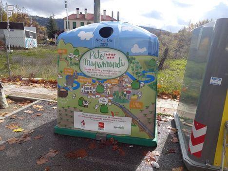 San Lorenzo, Moralzarzal y El Escorial se suman al 'Reto Mapamundi' para aumentar el reciclado de vidrio