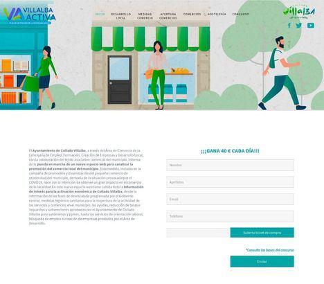 Collado Villalba lanza una nueva campaña para fomentar el consumo en el comercio local