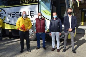 Guadarrama agradece a E-Rescue su apuesta por la Seguridad Vial y les felicita por el premio 'Ponle Freno'