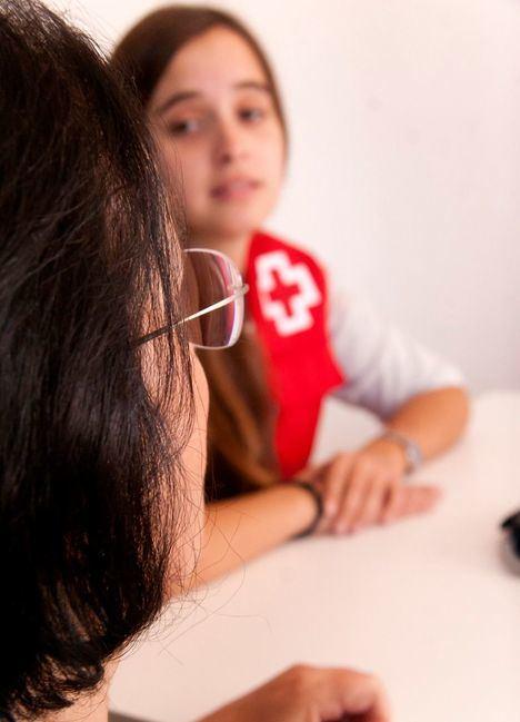 Actividades de Cruz Roja por el Día Internacional de la Eliminación de la Violencia contra la Mujer