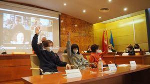 Los escolares de Torrelodones celebran un Pleno infantil marcado por la pandemia
