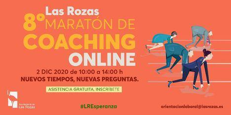 El VIII Maratón de Coaching para el empleo de Las Rozas espera 1.400 participantes el 2 de diciembre