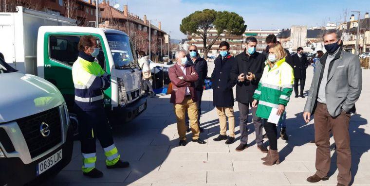 200 trabajadores y 40 vehículos preparados para hacer frente a las inclemencias invernales en Collado Villalba