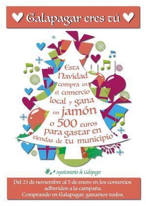 'Galapagar eres tú': nueva campaña de promoción del comercio local por Navidad