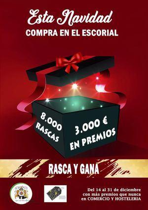 """3.000 euros en premios y guías impresas para una Navidad """"sin excusas"""" para comprar en El Escorial"""