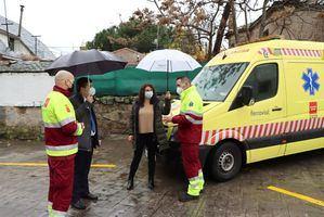 Galapagar ya cuenta con un retén 24 horas del Servicio de Ambulancias del SUMMA
