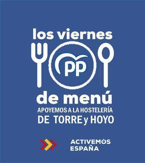 El Partido Popular lanza la campaña 'Viernes de menú' en Torrelodones y Hoyo de Manzanares