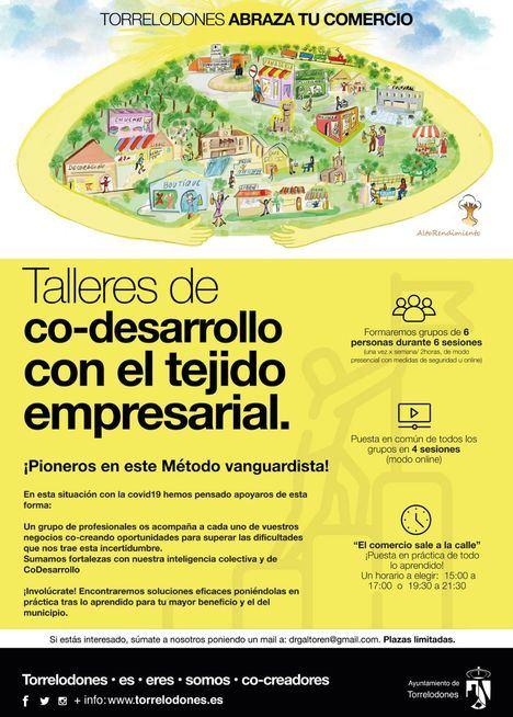El Ayuntamiento de Torrelodones acoge varios talleres de codesarrollo empresarial