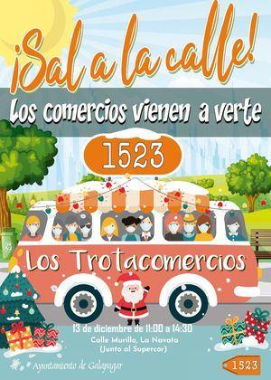 Este domingo 13 de diciembre vuelven los Trotacomercios a Galapagar