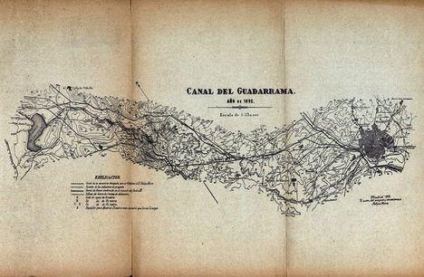 La Comunidad de Madrid vuelve a tramitar la declaración de Bien de Interés Cultural para la Presa del Gasco y el Canal del Guadarrama