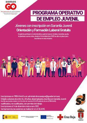 Abierta la inscripción para los programas de mejora de empleo para jóvenes de Guadarrama