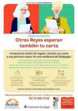 La Biblioteca de Galapagar invita a mantener correspondencia con los mayores de las residencias