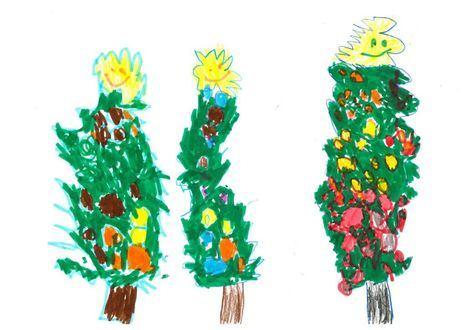 Los escolares de Las Rozas hacen llegar sus mensajes de cariño a los mayores estas Navidades