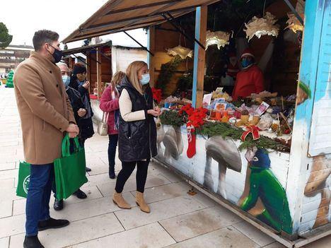 Collado Villalba 'inaugura' la Navidad con el Mercado y el Tren de la Navidad y el Roscón Solidario