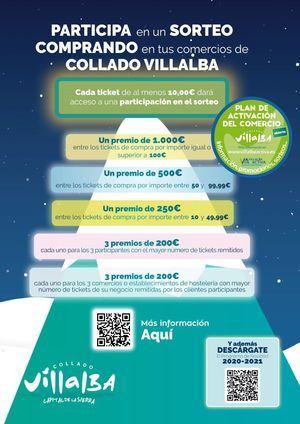 Collado Villalba pone en marcha dos iniciativas para promover el comercio y la hostelería local en Navidad