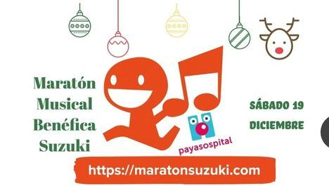 Las escuelas Suzuki de toda España recaudan fondos con una maratón para la ONG PayaSOSpital