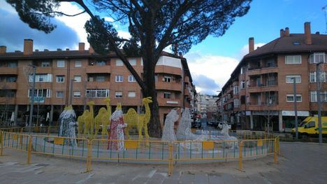 Polémica por la iluminación navideña de Collado Villalba, que ha triplicado el coste de 2019