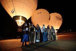 Los Reyes Magos visitan Las Rozas en globo hasta el 5 de enero