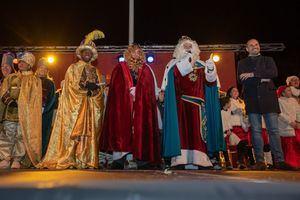 Los Reyes Magos reciben las llaves de Majadahonda para poder visitar en sus casas a todos los niños
