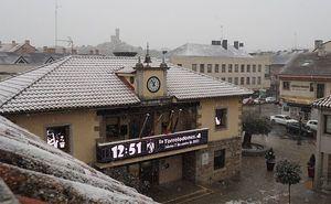 Torrelodones cierra la Casa de Cultura ante la previsión de fuertes nevadas