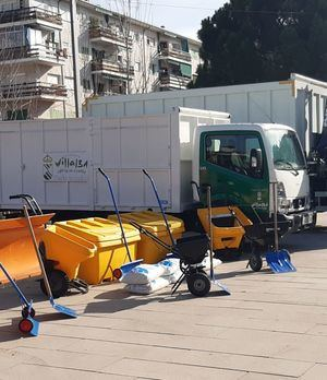 El Ayuntamiento de Collado Villalba amplía los horarios para la recogida gratuita de sal