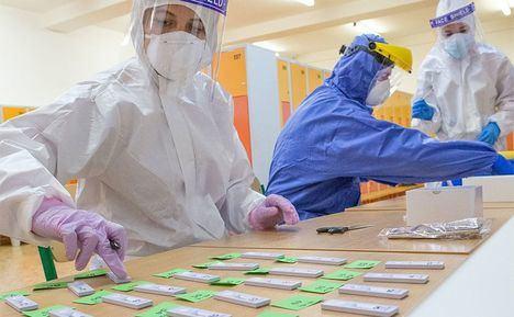 La Comunidad comienza el día 15 a realizar test de antígenos a los vecinos de Torrelodones