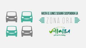 Collado Villalba mantiene la suspensión de la zona ORA y el cierre de varias instalaciones municipales hasta el lunes 18 de enero