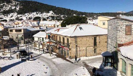 Moralzarzal, primer municipio en solicitar la declaración de zona catastrófica tras el paso de Filomena