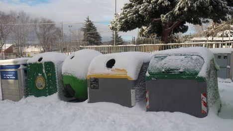 Torrelodones retoma el servicio de recogida de basuras, suspendido desde el viernes