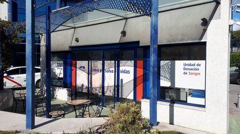 El Hospital de Torrelodones suspende la apertura extraordinaria de la unidad de donación de sangre para este viernes