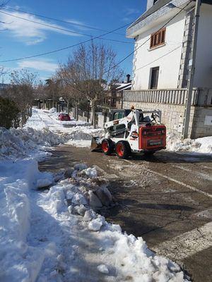 Hoyo de Manzanares no recupera aún el servicio de autobús en La Berzosa por la presencia de hielo